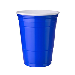 50 American Style Blue Solo Cups