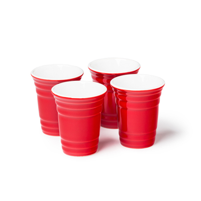Red Cup Party Shot Glasses