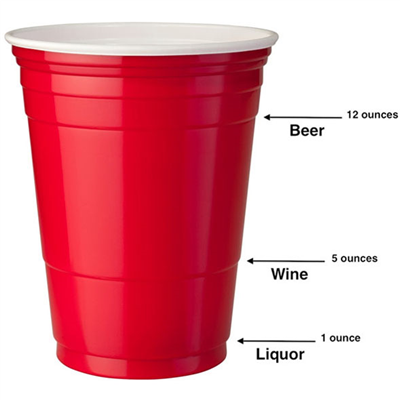50 American Style Red Solo Cups