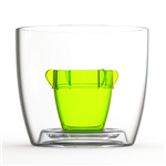 Bomber Jagerbomb Cup - Green 10 Pack
