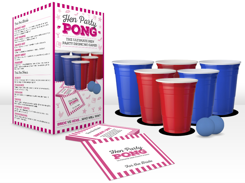 Hen Party Beer Pong
