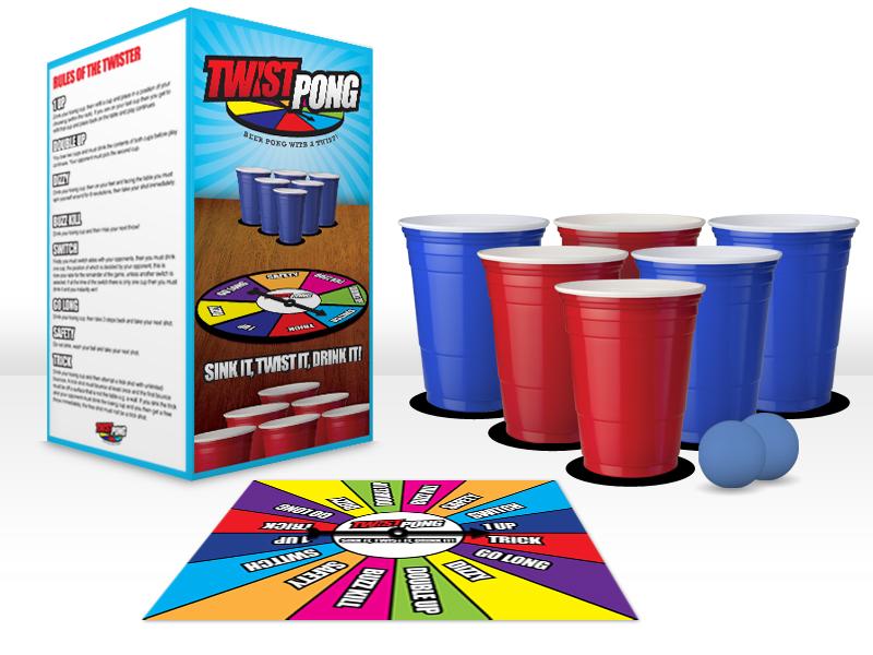Twist Pong set