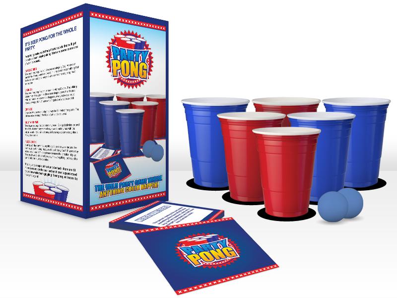 Party Pong set